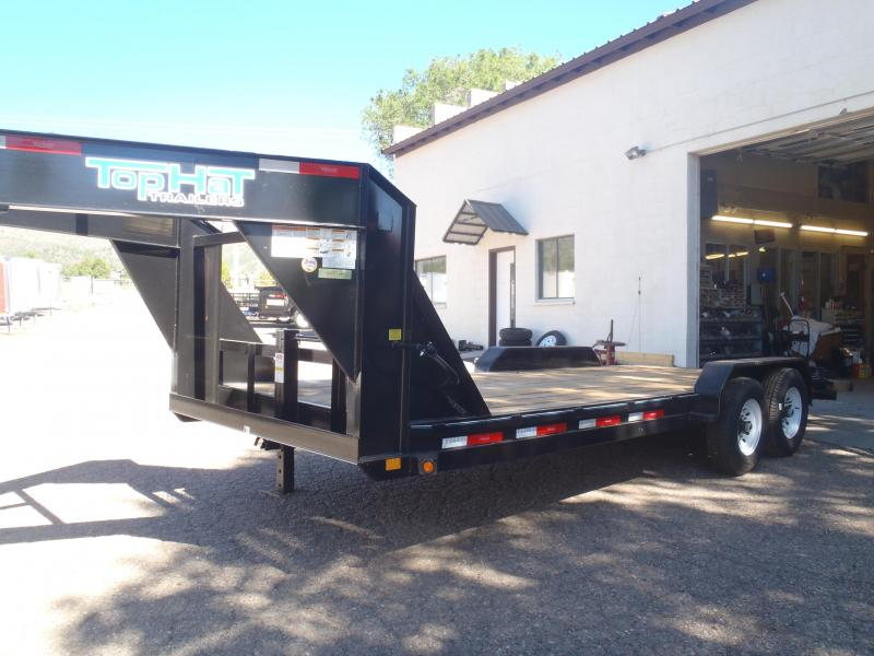 Gooseneck 83X20 14K Equipment Trailer