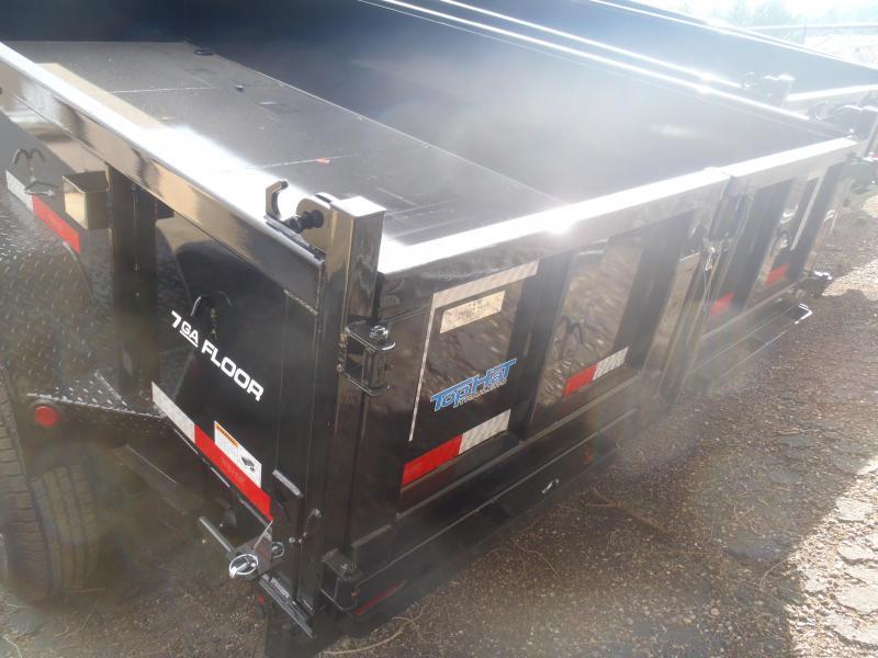 7' X 14' Low Pro 14000 lb G.V.W. Dump Trailer