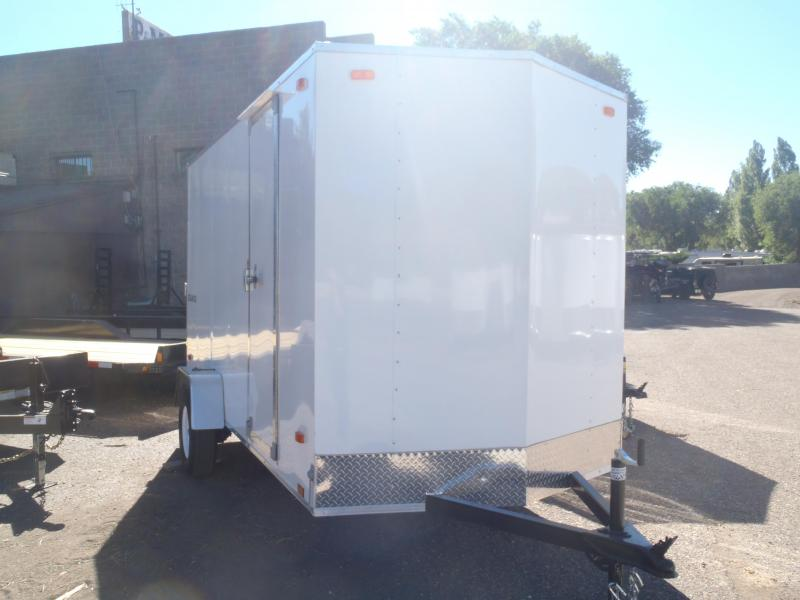 6x12 Equinox Enclosed Trailer Ramp Door