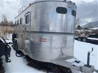 2007 W-W Trailer Marquis II Deluxe 3 HorseTrailer