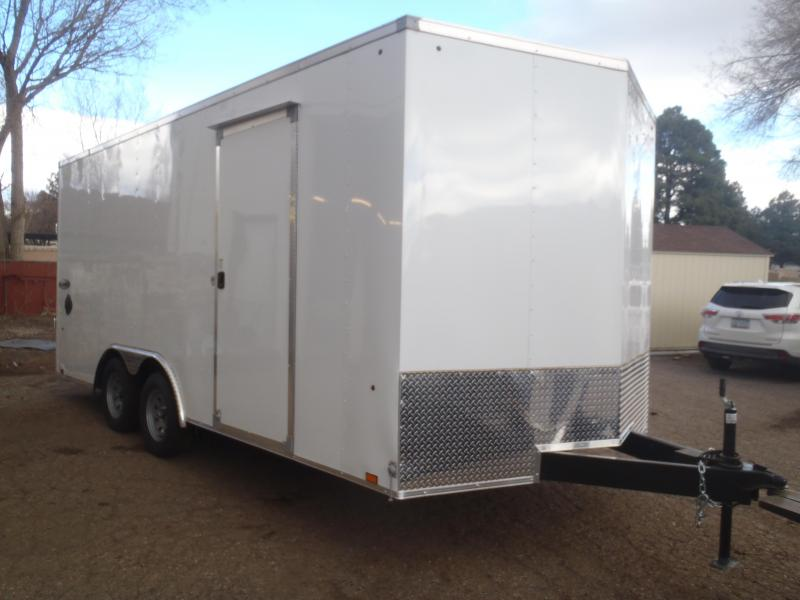 8.5X18 Element Enclosed 7' Tall
