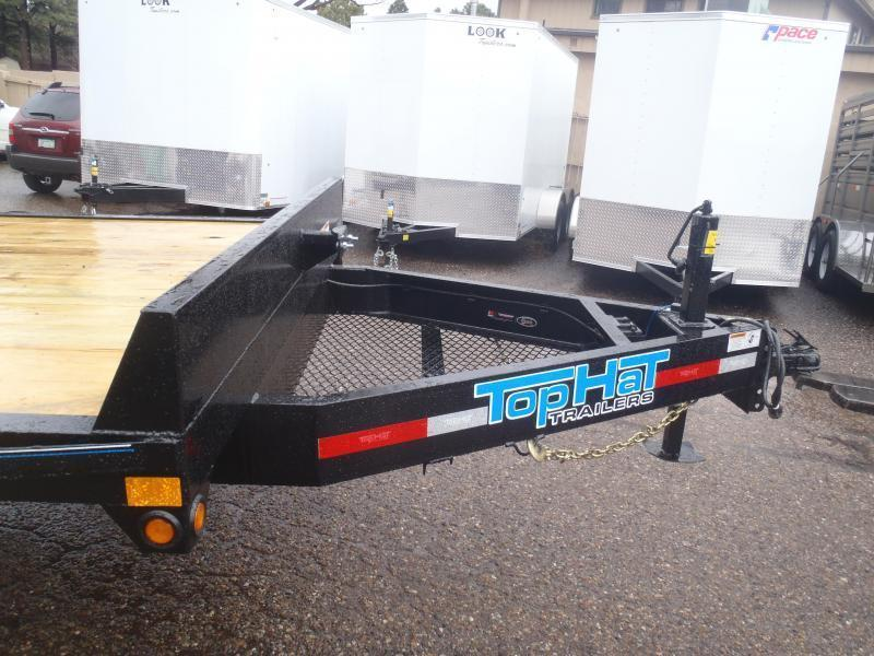 Top Hat Trailers 102X24 Utility Trailer Deck Over