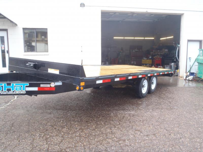 Top Hat Trailers 96X20 Utility Trailer Deck Over