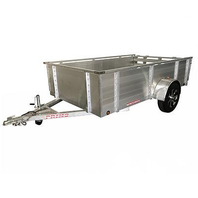 "6X10 Aluminum Utility Trailer 24"" solid sides Ramp Gate"