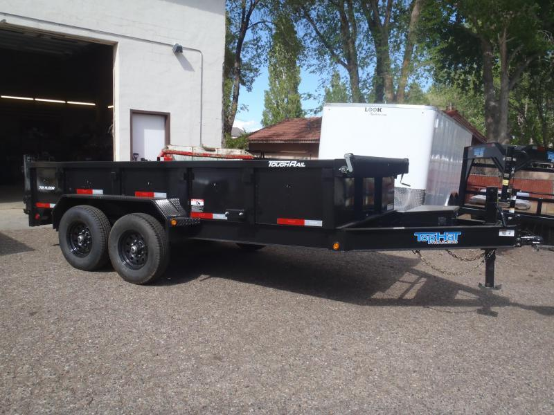7' X 16' 14000 lb G.V.W. Dump Trailer Low Profile