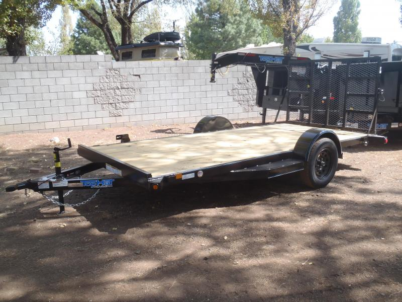 77X12 Utility Trailer with ramp gate