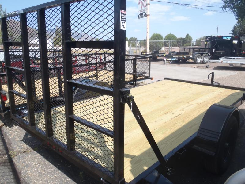 77X12 Utility Trailer with ramp gate