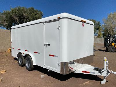 W-W Trailer 8X16 Cargo Carrier Enclosed Cargo Trailer