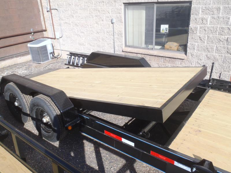 83X20 14K Tilt Deck Equipment Trailer