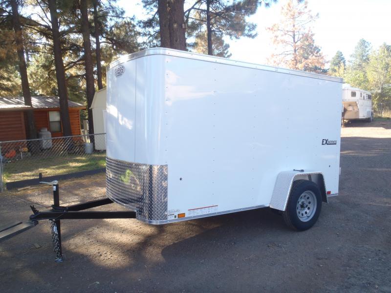 5x10 ST Enclosed Trailer Barn Doors
