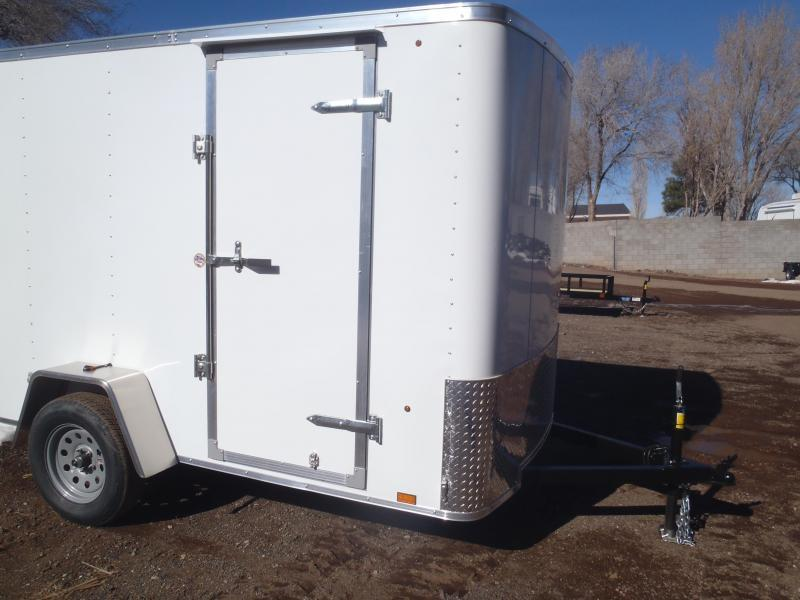 6x10 ST Enclosed Trailer Barn Doors