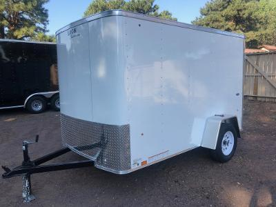 5x10 ST Enclosed Trailer Barn Doors