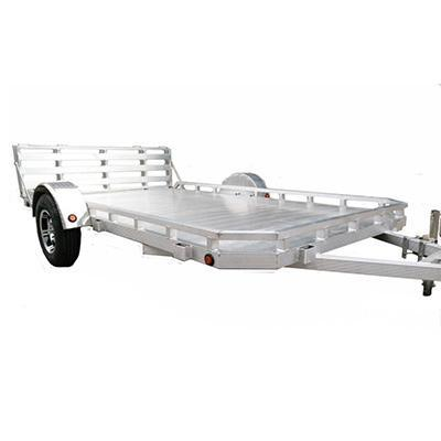 82X14 Aluminum Utility Trailer Low profile and Ramp Gate