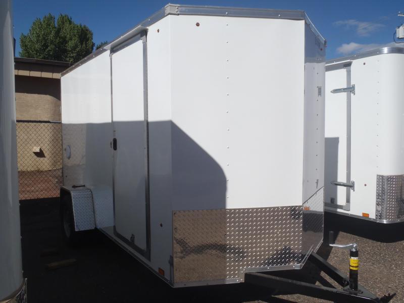 """6x12 ST Delux Cargo Ramp Side Door 6'6"""" Tall"""
