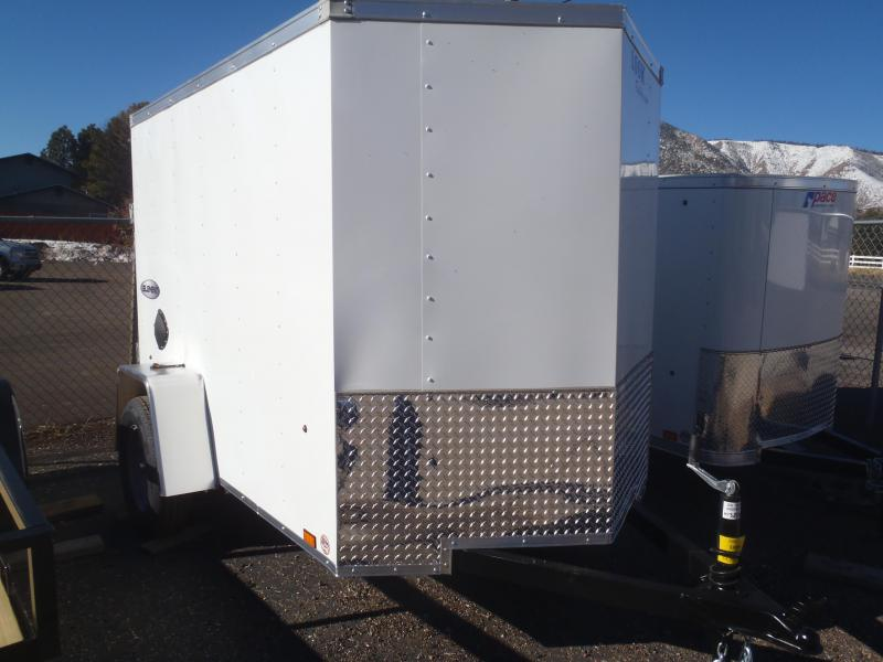 5x8 ST Enclosed Trailer Ramp Door