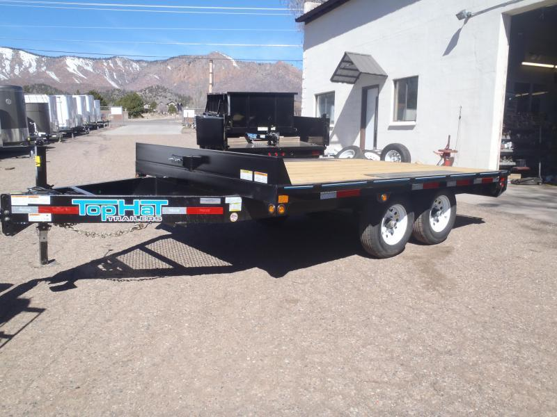 Top Hat Trailers 96X16 Utility Trailer Deck Over
