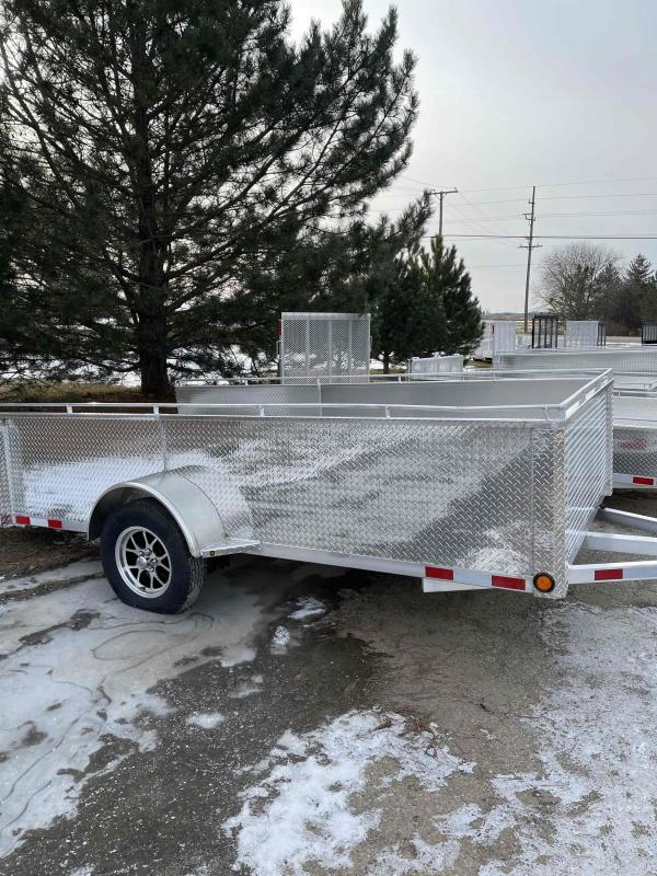 2021 12 foot utility trailer with high sides