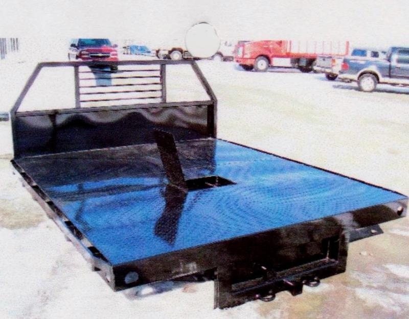 New 9' TTT Custom Built Steel Flatbeds
