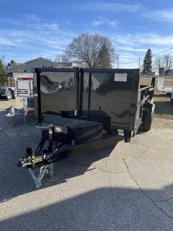2022 Powder Coated  83X16 7 Ton Dump Trailer