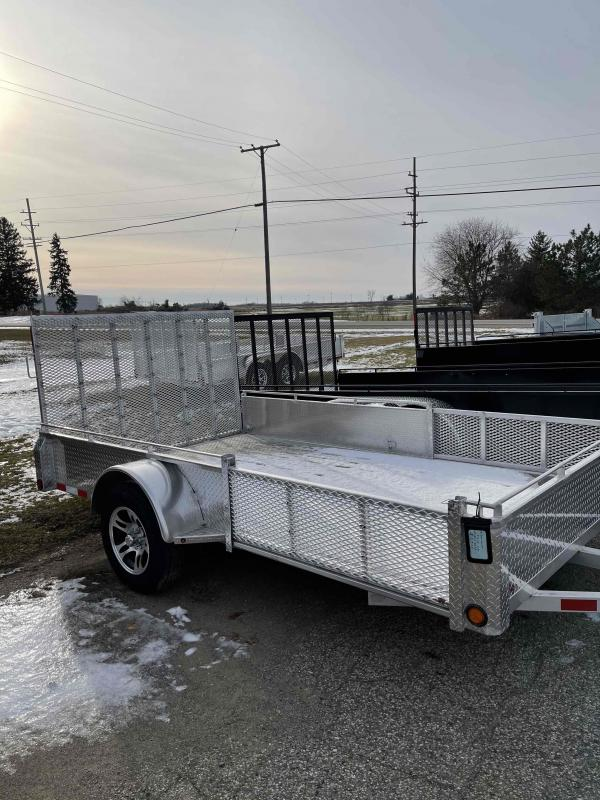 2021 80X12 foot ATV/Utility trailer with side ramps