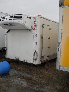 24' Thermo King Refrigerated Van Body