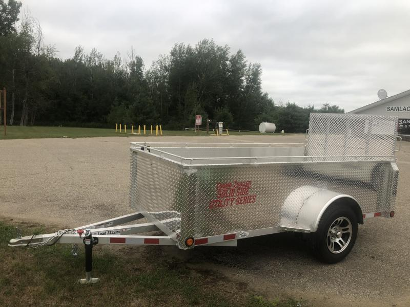 2020 Thumb Trailer 5x10 high side aluminum utility
