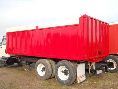 """USED 19' STEEL FARM BOX WITH 50"""" SIDES"""