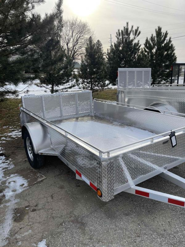 2021 6X10 foot utility trailer with bifold rear gate