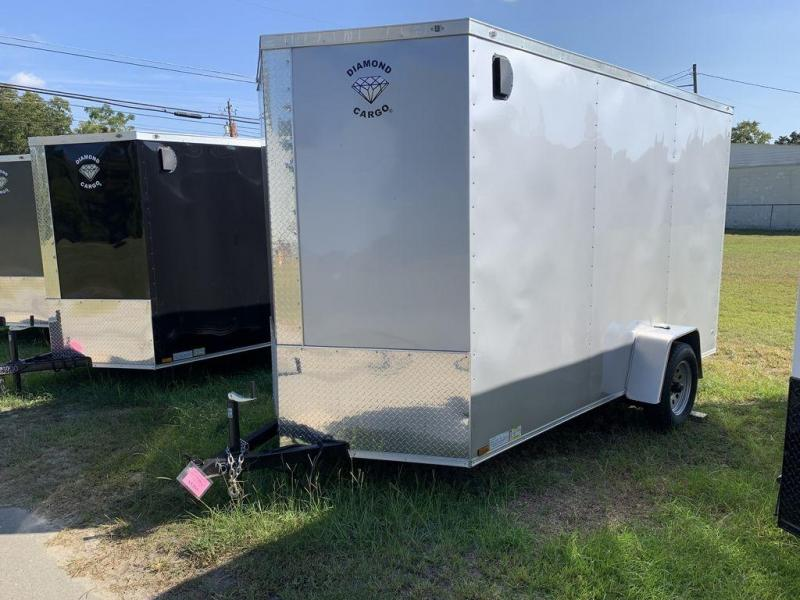 2020 Diamond Cargo 6X12 Single Axle Enclosed Cargo Trailer