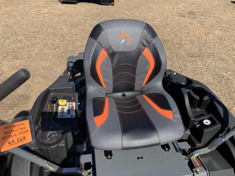 2021 Spartan RZ 61 Zero Turn with Kawasaki