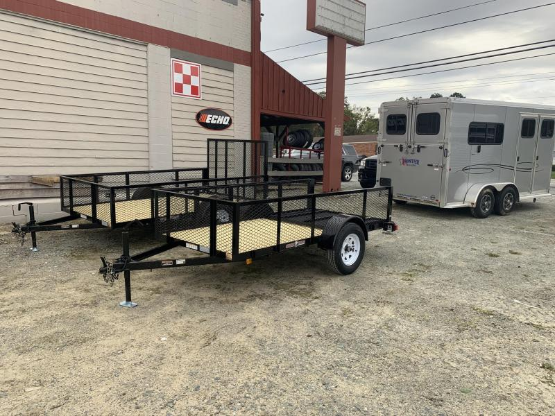 2021 Currahee 5x10 2ft Mesh Sides Utility Trailer