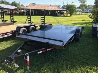 "2021 Master Tow 82""x18' 10k Car Hauler Equipment Trailer Steel Floor"