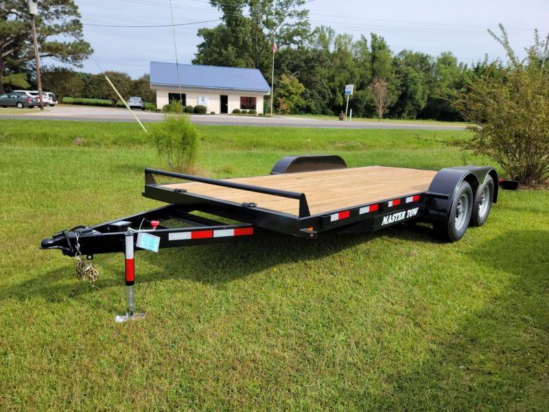 "2021 Master Tow 82""x18' 10k Car Hauler W/Wood Floor"