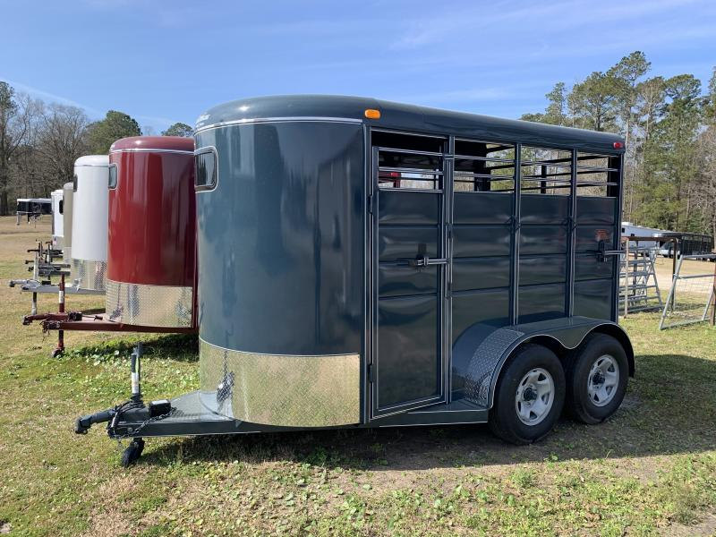 2020 Calico Trailers 2H Stock Horse Trailer
