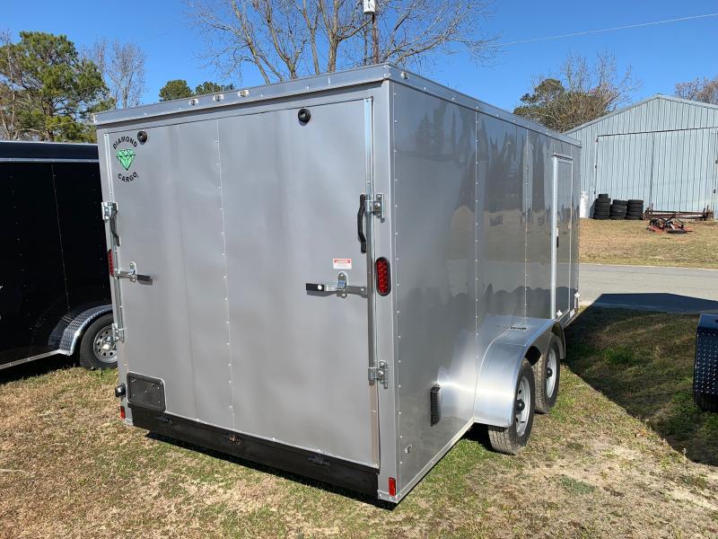 2020 Diamond Cargo 7x16 7k Enclosed Cargo Trailer
