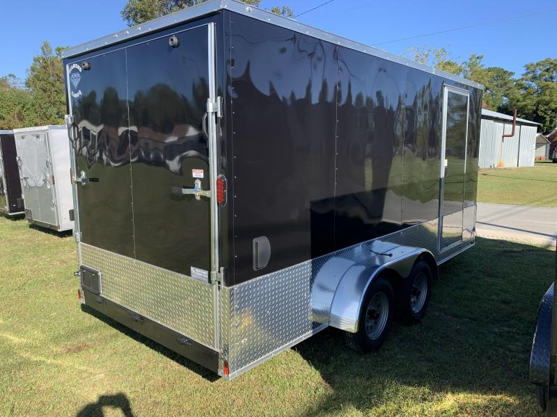 2021 Diamond Cargo 7x16 7k 7Tall Enclosed Cargo Trailer