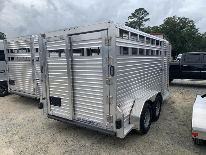 2020 Frontier 16 ft Stock Livestock Trailer