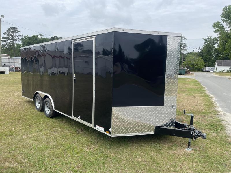 2021 8.5'x20' Diamond Enclosed Cargo Trailer 10k