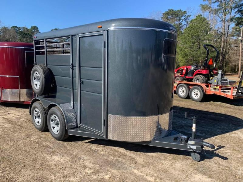 2021 Calico Trailers 2 Horse Stock Horse Trailer W/Mats