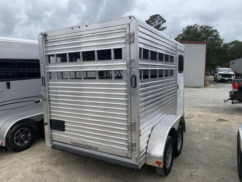 2020 Frontier 2h Slant Horse Trailer
