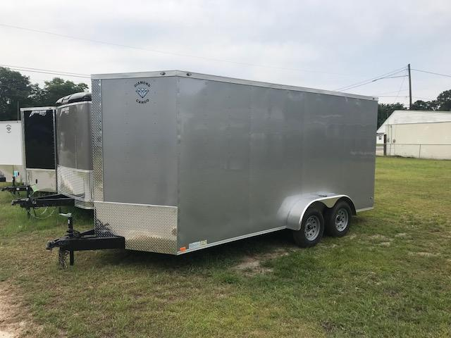 2021 Diamond Cargo '7x16'x7' Tall Enclosed Cargo Trailer