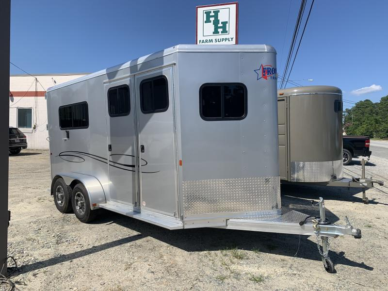 2020 Frontier 2h Straight load Horse Trailer