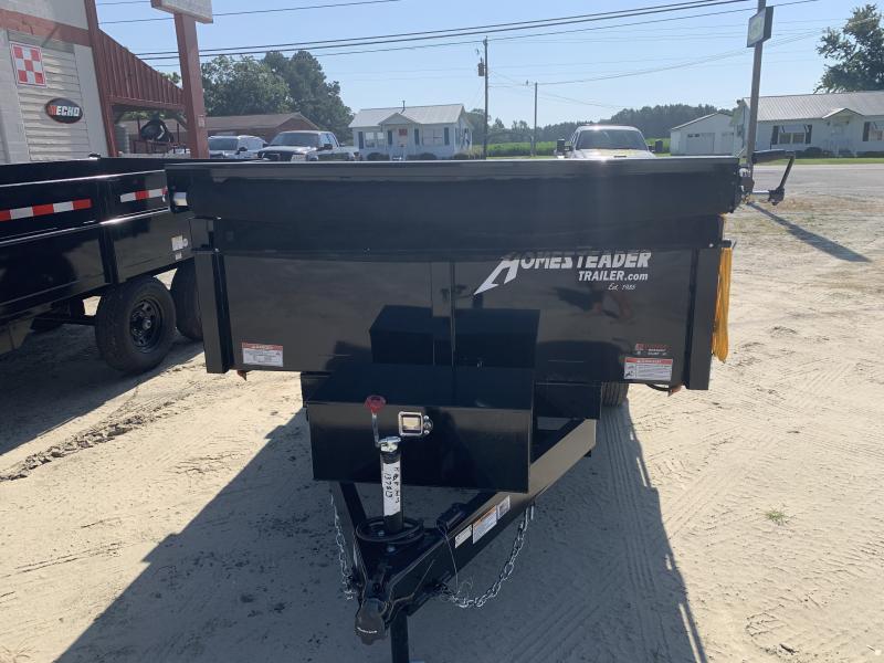 2021 Homesteader Trailers 6x12 LB Dump Trailer w/Tarp