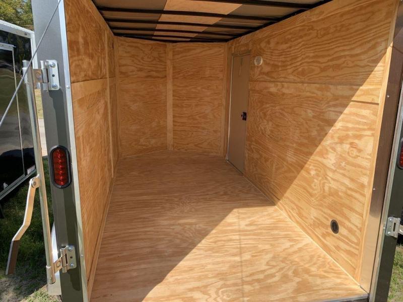 2020 Diamond Cargo 6X12 Tandem Axle Enclosed Cargo Trailer