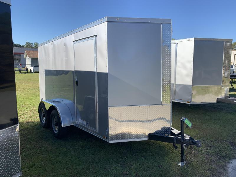 2021 Diamond Cargo 6'X12' Tandem Axle 7k W/Ramp