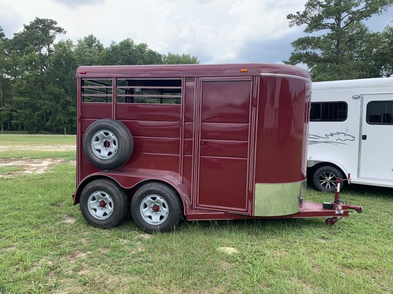 2020 Calico Trailers 2 Horse Stock Horse Trailer