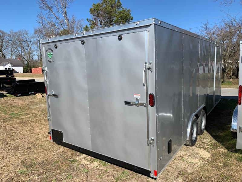 2020 Diamond Cargo 8.5x20 7k Enclosed Cargo Trailer