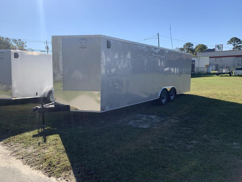 2021 Diamond Cargo 8.5x24 10k Enclosed Cargo Trailer