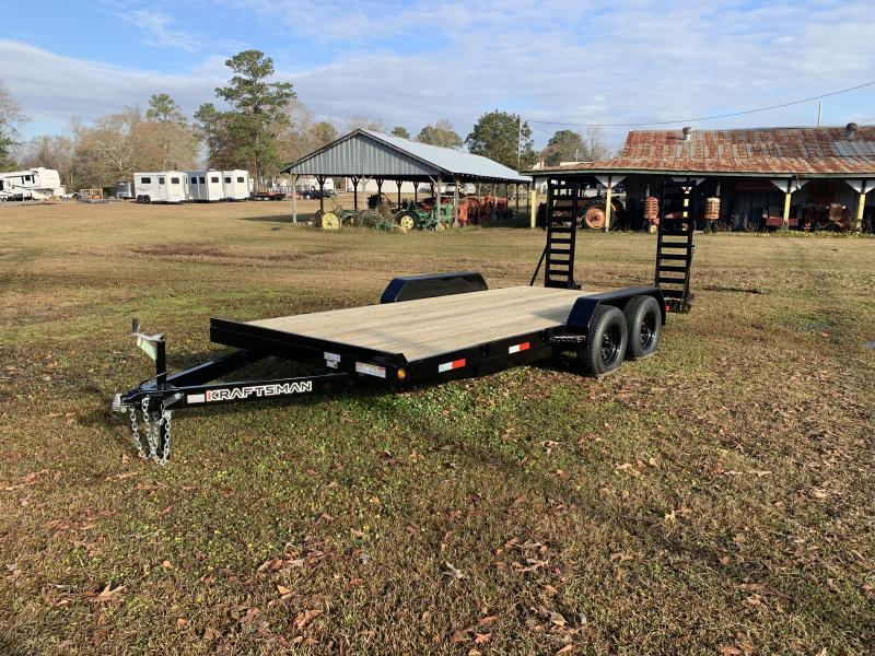 2021 Kraftsman Trailers E5-E83x18 Equipment Trailer