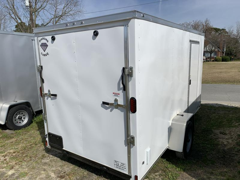 2021 Diamond Cargo 6'x12' 3.5k W/Ramp